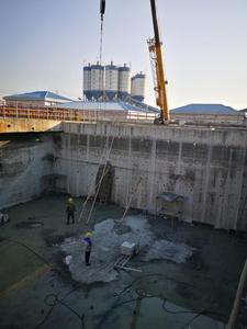 兰西污水处理厂隔断拆除