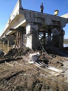 嘉荫大桥拆除