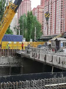 哈尔滨新阳路地道桥切割